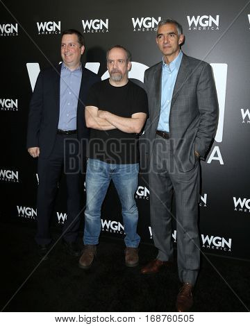 LOS ANGELES - DEC 13:  Paul Giamatti, Outsiders exec at the WGN America's