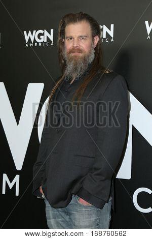 LOS ANGELES - DEC 13:  Ryan Hurst at the WGN America's