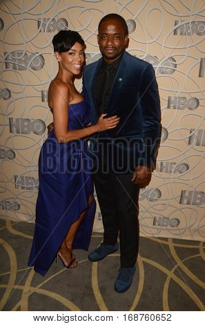 LOS ANGELES - JAN 8:  Dule Hill, Guest at the HBO Golden Globes After-Party at Circa 55 at Beverly Hilton Hotel on January 8, 2017 in Beverly Hills, CA