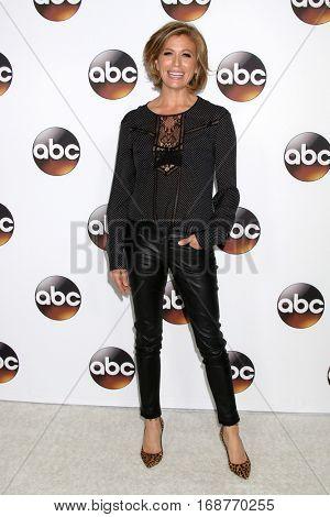 LOS ANGELES - JAN 10:  Sonya Walger at the Disney/ABC TV TCA Winter 2017 Party at Langham Hotel on January 10, 2017 in Pasadena, CA