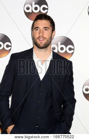 LOS ANGELES - JAN 10:  Josh Bowman at the Disney/ABC TV TCA Winter 2017 Party at Langham Hotel on January 10, 2017 in Pasadena, CA