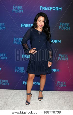LOS ANGELES - JAN 10:  Cierra Ramirez at the Disney/ABC TV TCA Winter 2017 Party at Langham Hotel on January 10, 2017 in Pasadena, CA