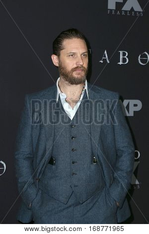 LOS ANGELES - JAN 9:  Tom Hardy at the