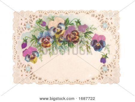 Old-Fashioned Postcard