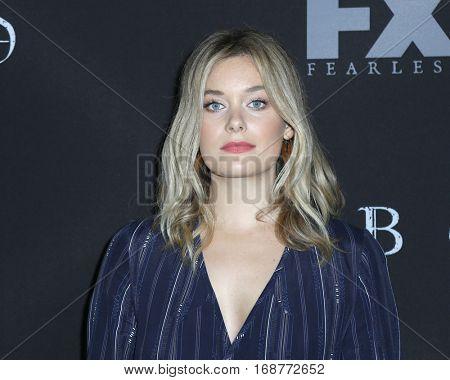 LOS ANGELES - JAN 9:  Rachel Keller at the