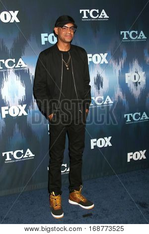 LOS ANGELES - JAN 11:  Yassir Lester at the FOX TV TCA Winter 2017 All-Star Party at Langham Hotel on January 11, 2017 in Pasadena, CA