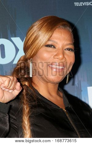 LOS ANGELES - JAN 11:  Queen Latifah,  at the FOX TV TCA Winter 2017 All-Star Party at Langham Hotel on January 11, 2017 in Pasadena, CA