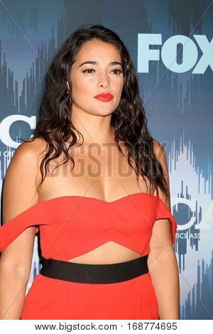 LOS ANGELES - JAN 11:  Natalie Martinez at the FOX TV TCA Winter 2017 All-Star Party at Langham Hotel on January 11, 2017 in Pasadena, CA