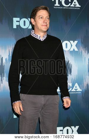 LOS ANGELES - JAN 11:  Kevin Rahm at the FOX TV TCA Winter 2017 All-Star Party at Langham Hotel on January 11, 2017 in Pasadena, CA