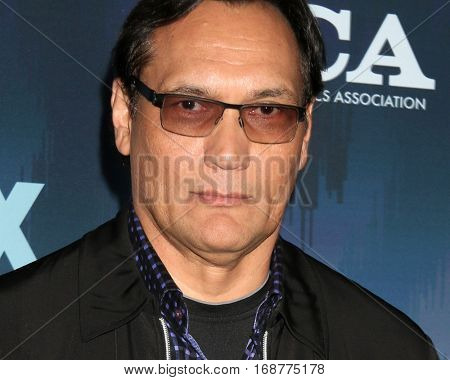 LOS ANGELES - JAN 11:  Jimmy Smits at the FOX TV TCA Winter 2017 All-Star Party at Langham Hotel on January 11, 2017 in Pasadena, CA