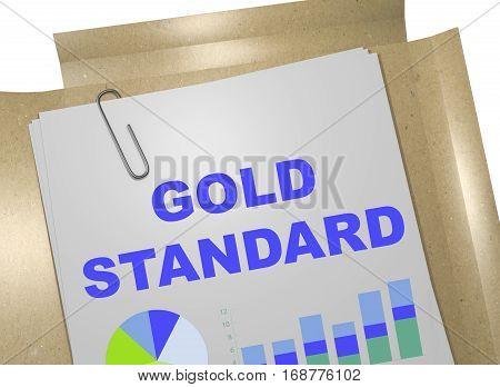 Gold Standard - Business Concept