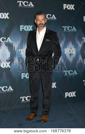 LOS ANGELES - JAN 11:  Eddie Cibrian at the FOX TV TCA Winter 2017 All-Star Party at Langham Hotel on January 11, 2017 in Pasadena, CA