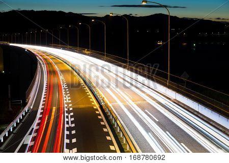 City road night scene