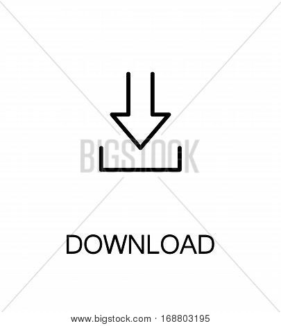 Download flat icon. Single high quality outline symbol for web design, mobile app. Download vector thin line icons or logo.