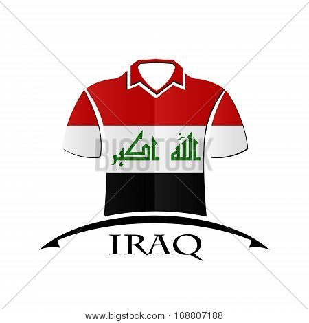 shirts icon made from the flag of Iraq