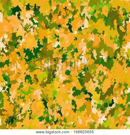 Seamless khaki pattern. Military camouflage vector background
