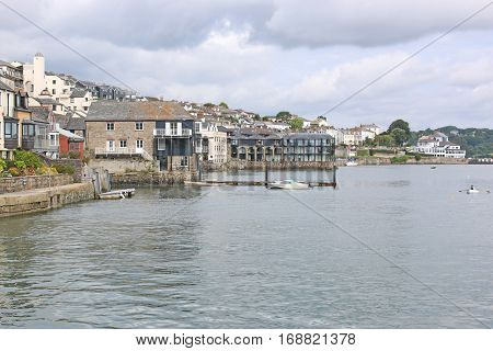 Falmouth town on the River Fal, Cornwall