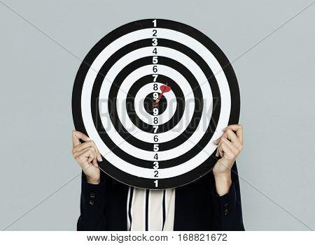 Dartboard Bullseye Business Wear