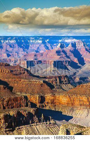 In the Grand Canyon National Park Arizona USA