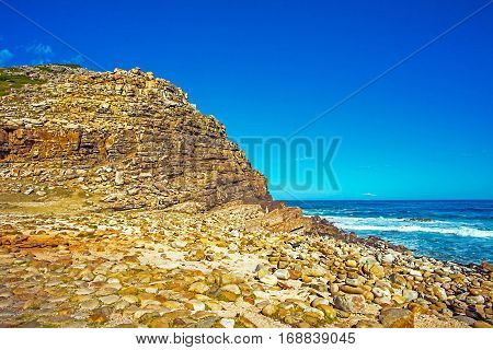 At the Cape of Good Hope South Africa