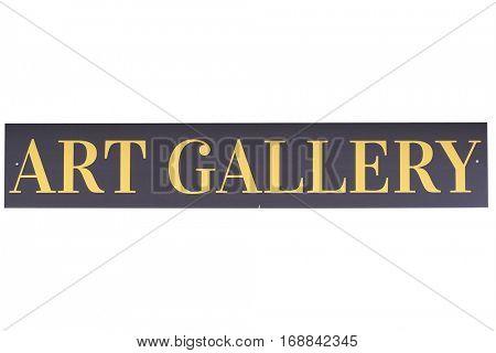 Museum signboard