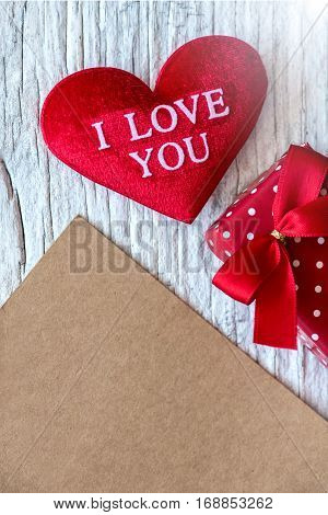 Valentines day and sweetest concept, love heart
