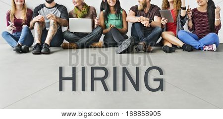 Hiring Career Employment Human Resources Concept