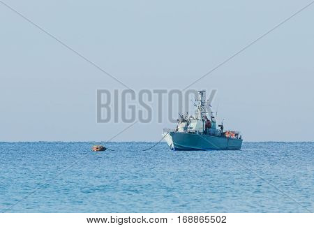 All-weather Patrol Boat Patrol Sea Space Of The Country