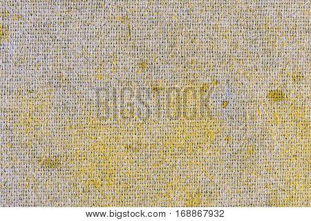Scrim background- denim canvas for artwork. Textile fabric