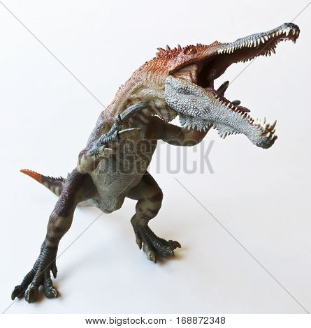 A Theropod Dinosaur Named Baryonyx Meaning Heavy Claw