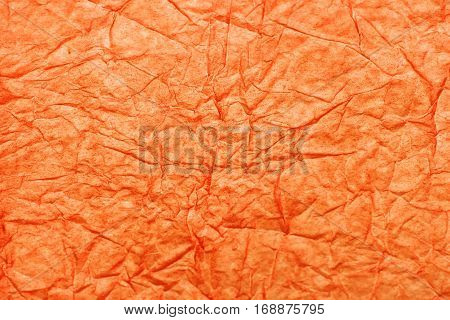 Texture Of Crumpled Colored Paper, Crumpled Paper