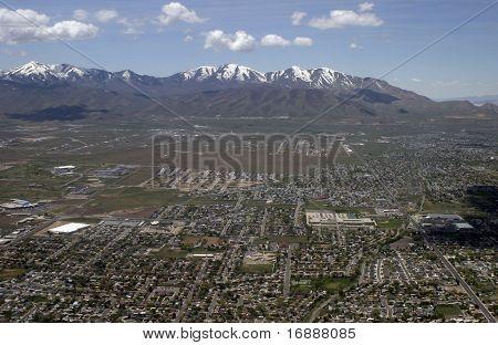 Above Salt Lake City