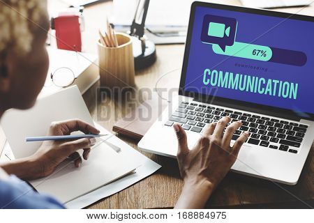 Conference Call Global Communication Connection Technology Concept