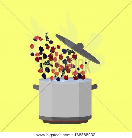 Cooking Pot Open