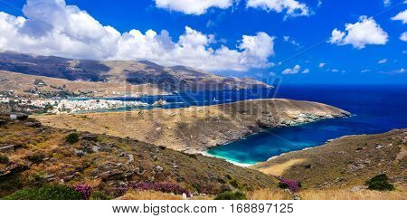 Amazing Greece series - pictorial Andros island. Cyclades