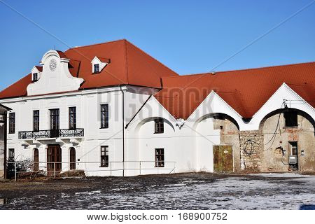 Baroque Imperial Stables, part of the residence and estate of Francis of Lorraine, 1745-1773,Kopčany,Slovakia,Horse
