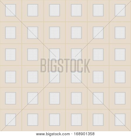 windows city high-rise building seamless simple pattern.