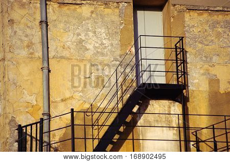 Door And Emergency Staircase