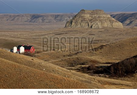 Badlands Canada Saskatchewan Big Muddy Ranch Castle Butte
