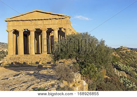 Agrigento Temple In Sicily