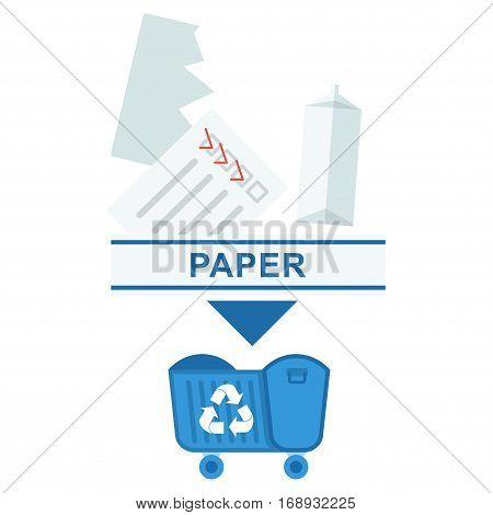 Sorted Garbage Paper