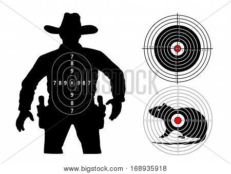set of targets human mouse classic, vector