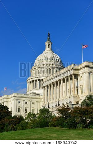 United States Capitol Building - Washington DC USA