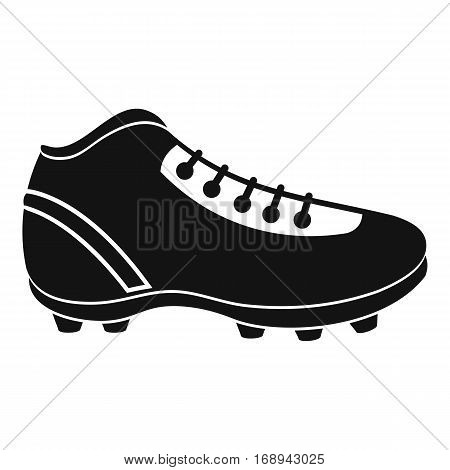 Baseball cleat icon. Simple illustration of baseball cleat vector icon for web
