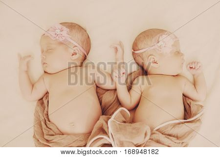Lovely Newborn Twins