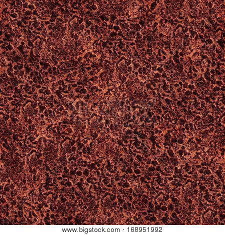 Seamless copper texture closeup background.