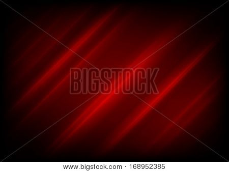 Dark red minimal smooth stripes background. Vector graphic design