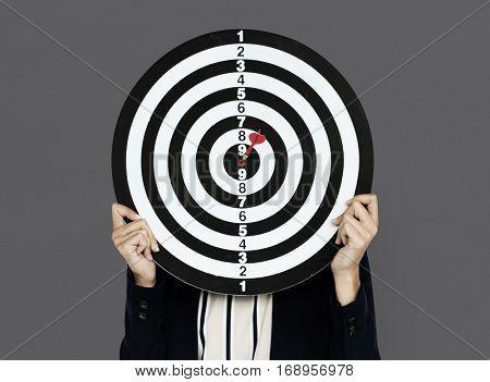 Darts board Bullseye Business Wear