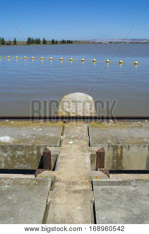 Barrage And Lock, Goolwa, South Australia, Fleurieu Peninsula