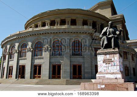 18 may 2007-yeveran-armenia- theater in yeveran armenia